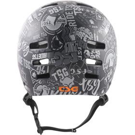 TSG Evolution Graphic Design Helmet stickerbomb